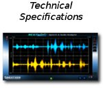 Speech Analyzer Technical Specifications